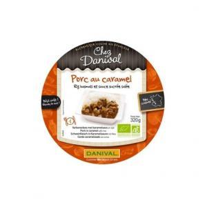Porc au caramel - riz basmati Bio - Danival