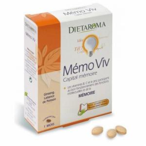Mémo Viv Capital mémoire - Dietaroma
