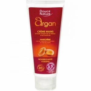 Crème pour les mains à l'huile d'argan Bio - Douce nature