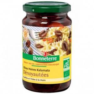 Olives noires dénoyautées Kalamata - Bonneterre