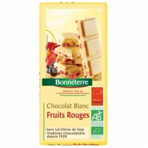 Chocolat Blanc Fruits Rouges - Bonneterre