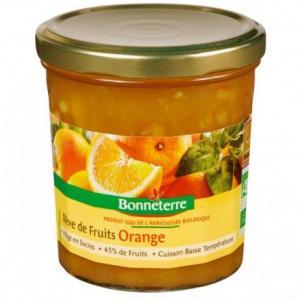 Confiture de fruits Orange - Rêve de fruits - Bonneterre