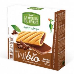 Twibio fourrés Chocolat - Le moulin du Pivert