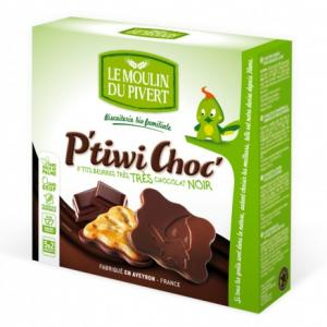 P'tiwi bio Chocolat Noir - Le moulin du Pivert