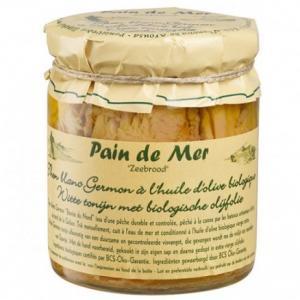 Filets de Thon Blanc à l'Huile d'Olive Bio - Pain de Mer