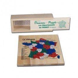 Dominos Puzzle Carte de France