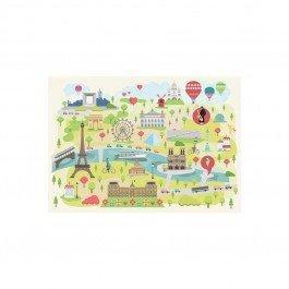 Puzzle en bois Paris illustré 24 pcs