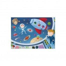 Puzzle en bois Les Astronautes 50 pcs