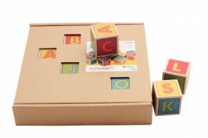Cubes Lettres en bois