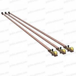 Option Barre liaison 180cm lot de 3, pour demi-arche