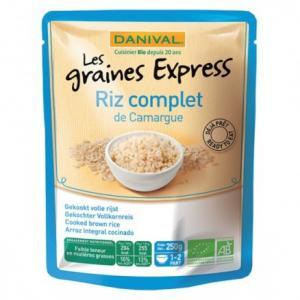 Riz complet express déjà cuit 250 g