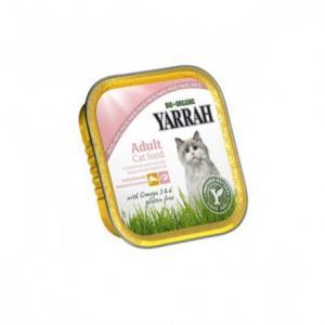 Barquette saumon crevette bio pour chat