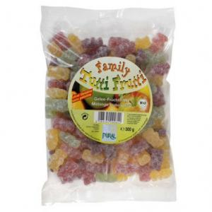 Bonbons Tutti frutti bio sans gélatine