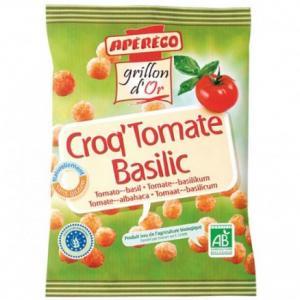 Biscuit apéritif Croq'Tomate Basilic