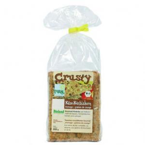 Biscuits apéritif Crusty Fromage graines de courge