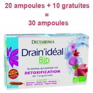 Offre Drain'Idéal 20 ampoules + 10 gratuites