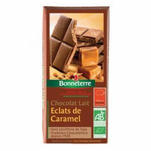 Chocolats Lait Eclats de Caramel