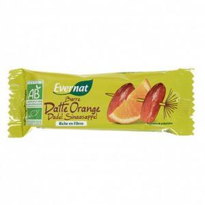 Barre de fruits dattes oranges