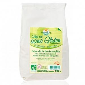 Farine bio de riz 1-2 complète sans gluten