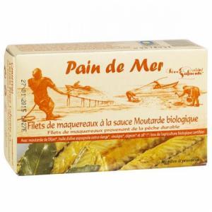 Filet de Maquereau sauce Moutarde Bio
