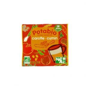 Potabio Carotte-Cumin Potage déshydraté