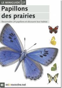 Miniguide 27 : Papillons des prairies