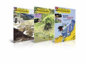 Abonnement découverte à La Petite Salamandre 6 mois