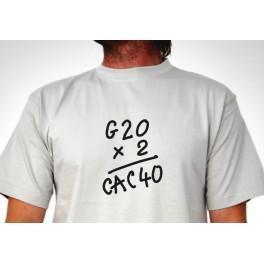 Tee-shirt G20 x 2