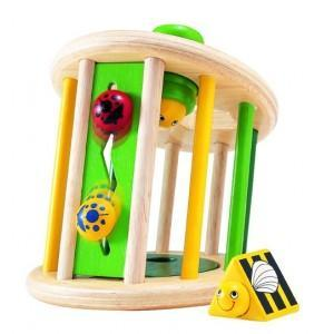 Boite à formes jardin nature wonderworld - jouets en bois