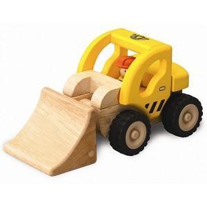 Camion bulldozer mini wonderworld - jouets en bois 2