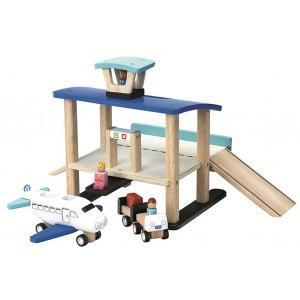 Jouet aéroport wonderworld - jouets en bois