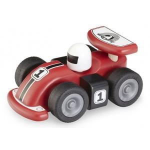 Petite voiture de course f1 wonderworld - jouets en bois  2