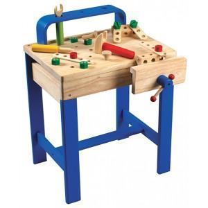 Etabli petit mécano wonderworld - jouets en bois