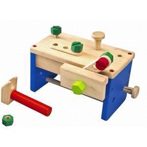 Boite à outils  etabli petit mécano wonderworld - jouets en bois