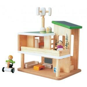 Maison ecologique mini plantoys