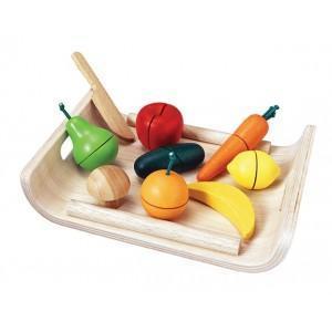 Plantoys dinette plateau fruits - légumes