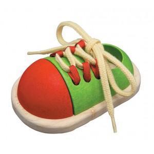 Jouet chaussure à lacer plantoys