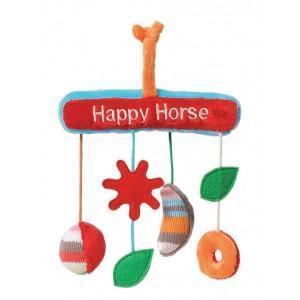 Mobile de hochets arc en ciel happy horse - peluches - doudous