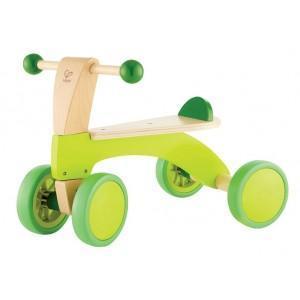 Hape porteur en bois 4 roues (vélo sans pédale) - jouets bio hape