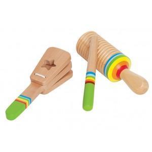 Set instrument de musique percussion - jouets bio hape