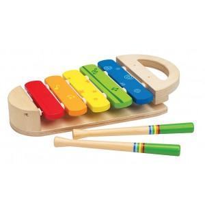 Xylophone bébé 5 tons bois  - jouets bio hape