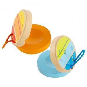 Set 2 castagnettes - jouets bio hape