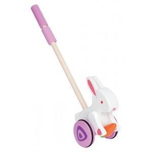 Jouet à pousser hape canne lapin - jouets écolo