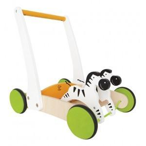 Chariot de marche zèbres - jouets bio hape