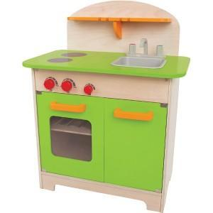Dinette cuisine chef 'verte' - jouet bio hape