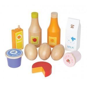Dinette aliments de base - jouets bio hape