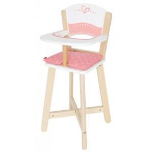 Jouets hape chaise haute bébé poupée - jouets écolo