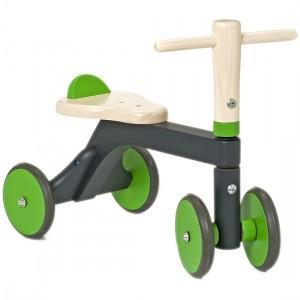 Porteur jasper toys gris vert ecologique