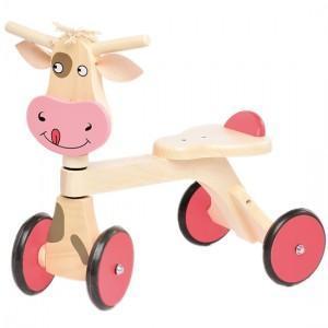 Porteur en bois Jasper Toys Vache - Jouet en bois Ecologique