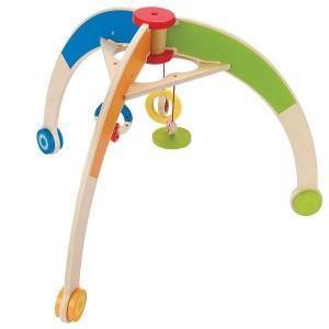 Portique d'eveil en bois - jouets bio hape